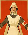 """HELP"" World War I poster of Australian Red Cross Nurse (cropped).jpg"
