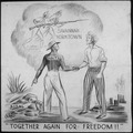 """TOGETHER AGAIN FOR FREEDOM^"" - NARA - 535669.tif"