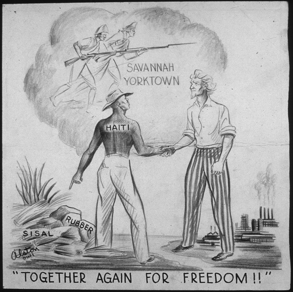 """TOGETHER AGAIN FOR FREEDOM^"" - NARA - 535669"