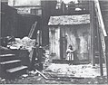 """""""Vaults, rubbish, and chaos."""" Image of an outhouse from a poster created by the Housing and Sanitation Committee Civic League pushing for the abolition of public outhouses.jpg"""