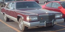 By 1985, the Brougham was Cadillac's last traditional full-size RWD car