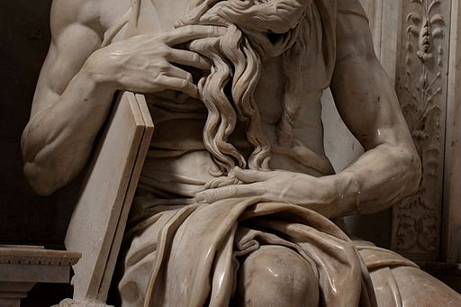 'Moses' by Michelangelo