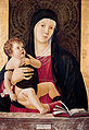 'The Madonna and Child', painting on panel by Giovanni Bellini, c. 1465, Kimbell Art Museum.jpg