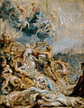 'The Martyrdom of Saint Ursula and the Eleven Thousand Maidens', oil on panel painting by Peter Paul Rubens.jpg