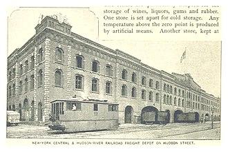 West Side Line (NYCRR) - Hudson River R.R. St. John's Depot Ca 1890