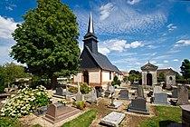 Église Notre-Dame du Silex et cimetière rue Principale à Bois-l'Évêque.jpg