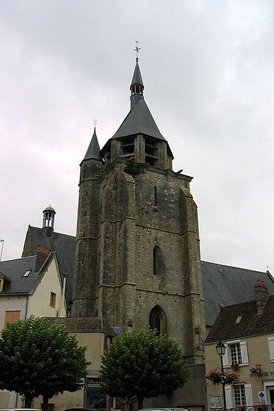 Église Saint-Jacques d'Illiers-Combray , Eure-et-Loir (France).