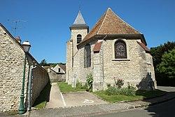 Église Saint-Martin de Villette dans les Yvelines le 17 juin 2015 - 1.jpg