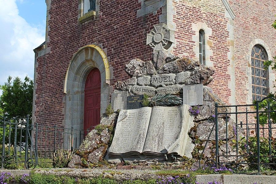 Église de Muel (Ille-et-Vilaine).