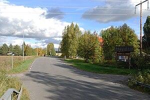 Ön, Umeå - Ön seen from the older bridge in September 2010.