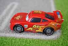 Lightning McQueen Side (die-cast) & Lightning McQueen - Wikipedia