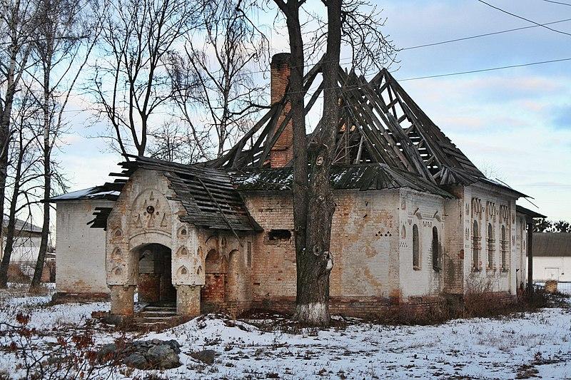 Будинок священика, село Пархомівка, Київська область. Автор SNCH, вільна ліцензія CC BY-SA 4.0
