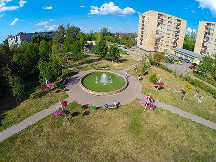 Городской фонтан Можайска в