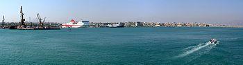 Панорама порта Ираклиона