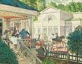 Кардоўскі. Пушкін у Царскім Сяле. 1909.jpg