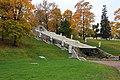 Каскад Драконов («Шахматная гора») (Петергоф, склон напротив Монплезирской аллеи).JPG