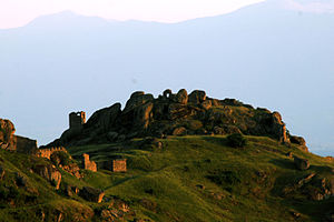 Old Serbia - Marko's Towers in Macedonia