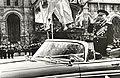 Маршал Советского Союза Р. Я. Малиновский принимает парад на Красной площади в Москве.jpg
