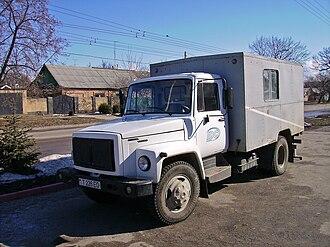 GAZ 3307/3309 - GAZ-3307 in Moldova