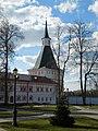 Новгородская обл., Валдай - Иверский монастырь, Никоновская башня 2.jpg