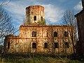 Новгородская обл. - Бурегский монастырь, Воскресенский собор 1.jpg