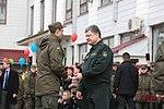 Президент України Петро Порошенко привітав молодих офіцерів з випуском 3146 (16737739127).jpg