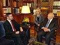 Среща на министър Вигенин с президента на Гърция Каролос Папуляс (10341712144).jpg