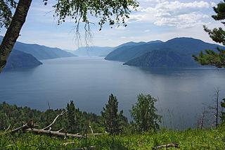 lake in Altai Republic, Russia
