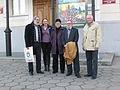 Фота з персанальнай выставы Вітражы часу мастака Уладзіміра Акулава ў Віцебскім мастацкім музеі 04.JPG