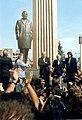 Շառլ Ազնավուրի արձանի բացումը, 2001, Գյումրի.jpg