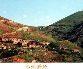 Shender Shami village in Ardabil, Iran