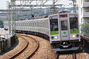 Toei 10-000 series - 7th-batch set 10-250 in June 2009