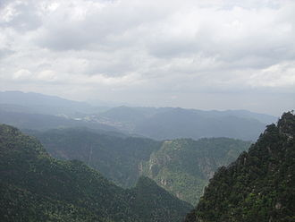 Jinggang Mountains - Image: 革命圣地井冈山啊