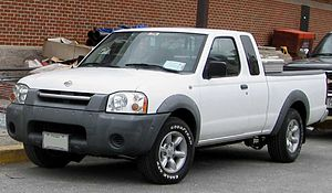 Nissan Navara - 2001–2004 Nissan Frontier (North America)