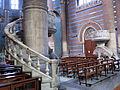 012 Església de l'Hospital de Sant Pau, púlpits de Sant Lluc i Sant Marc.JPG