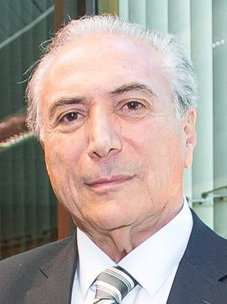 G8+5 - Image: 03 02 2015 Michel Temer (16249552978, cropped)