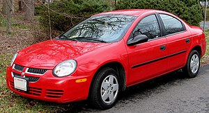 Chrysler Neon - 2003–2005 Dodge Neon (US)