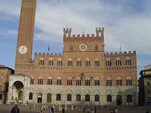 Palazzo Pubblico, Piazza Del Campo, Siena, Italy
