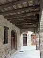 036 Cal Be, Ajuntament de Santpedor, porxo.JPG