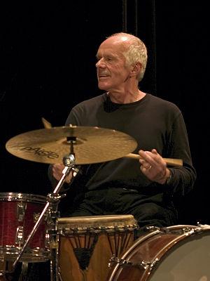 Pierre Favre (musician) - Favre in 2005