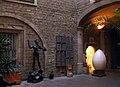 059 Casa Bassols, Reial Cercle Artístic, pati.jpg