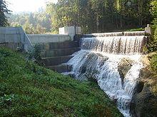 в Швейцарии Малая гидроэлектростанция или малая ГЭС (МГЭС) гидроэлектростанция, вырабатывающая сравнительно малое...