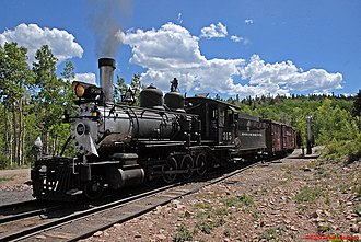 National Register of Historic Places listings in La Plata County, Colorado - Image: 06 16 08 123x R Pcr Flickr drewj 1946