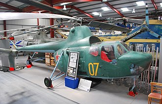 Mil Mi-1 - Early three-seater Mi-1 variant in The Helicopter Museum