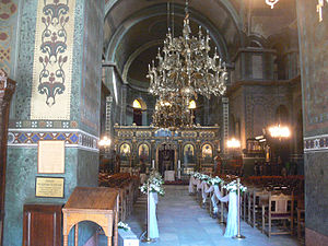 Hagia Sophia, Thessaloniki - Interior view