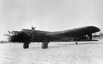 No. 102 Squadron RAF - Image: 102 Squadron Whitley at RAF Topcliffe WWII IWM CH 2052