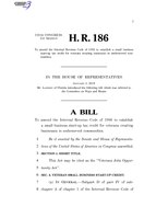 116th United States Congress H. R. 0000186 (1st session) - Veterans Jobs Opportunity Act.pdf