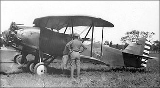 Connecticut Air National Guard - 118th Observation Squadron - Curtiss XO-12 Falcon, about 1926