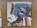 1210 Autokaderstraße 3-7 Tomaschekstraße 44 Stg 30 - Mosaik-Hauszeichen Farbige Komposition von Anton Karl Wolf 1968 IMG 0913.jpg
