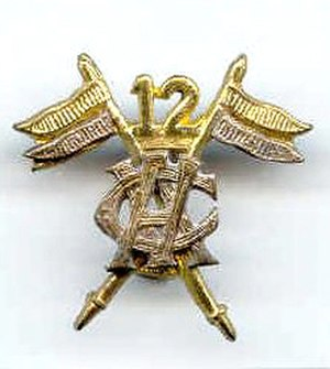 12th Cavalry (Frontier Force) - Image: 12th Cavalry (FF) badge